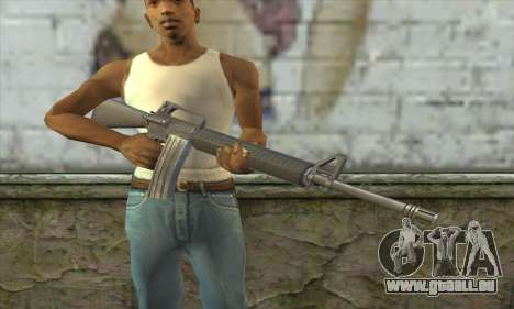 M4A1 из Postal 3 für GTA San Andreas dritten Screenshot