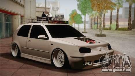 Volkswagen Golf IV Hellaflush pour GTA San Andreas