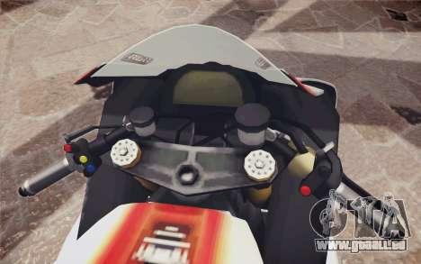 Yamaha YZF R1 pour GTA San Andreas vue de droite