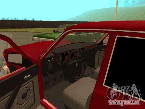 GAZ Volga 24-10 pour GTA San Andreas vue arrière