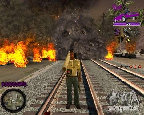 C-HUD Ballas Gang pour GTA San Andreas
