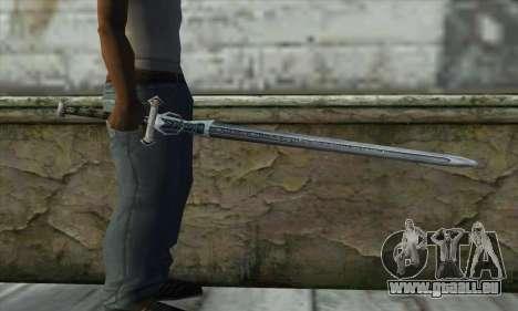 Gothic 2 Sword pour GTA San Andreas troisième écran