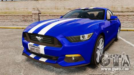 Ford Mustang GT 2015 Stock pour GTA 4