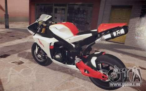 Yamaha YZF R1 für GTA San Andreas linke Ansicht