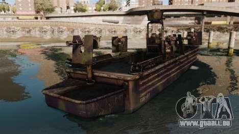 Navy SEALs SOC-R pour GTA 4 Vue arrière de la gauche