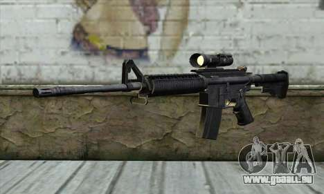 M4A1 Carbine Assault Rifle für GTA San Andreas