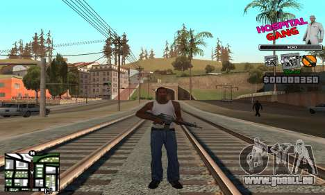C-HUD Hospital pour GTA San Andreas