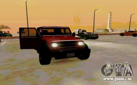 GTA V Mesa pour GTA San Andreas vue de droite