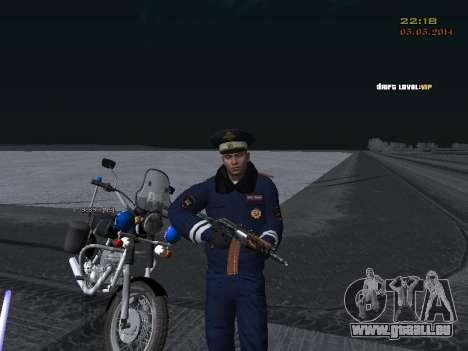 Pak DPS dans un format de l'hiver pour GTA San Andreas huitième écran