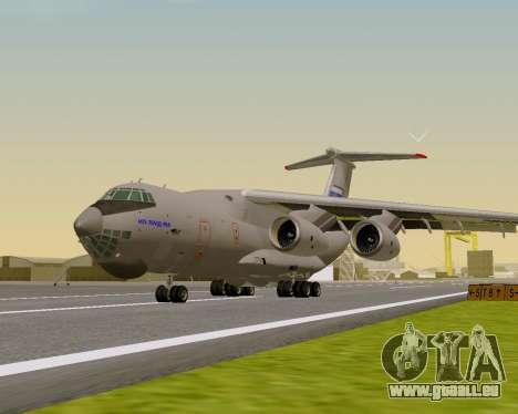 Il-76md-90 (IL-476) pour GTA San Andreas laissé vue