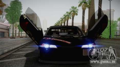 Nissan S15 Street Edition Djarum Black für GTA San Andreas Innenansicht