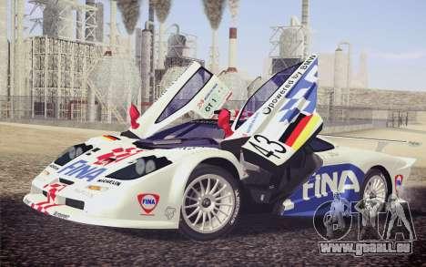 McLaren F1 GTR Longtail 22R pour GTA San Andreas roue