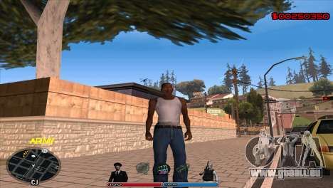 C-Hud Army by Kin pour GTA San Andreas
