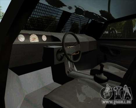 Zorrillo FF.EE pour GTA San Andreas vue arrière