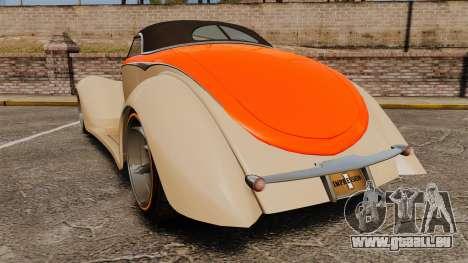 Ford Roadster 1936 Chip Foose 2006 pour GTA 4 Vue arrière de la gauche