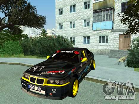 BMW M3 E36 Compact Darius Kepezinskas pour GTA San Andreas