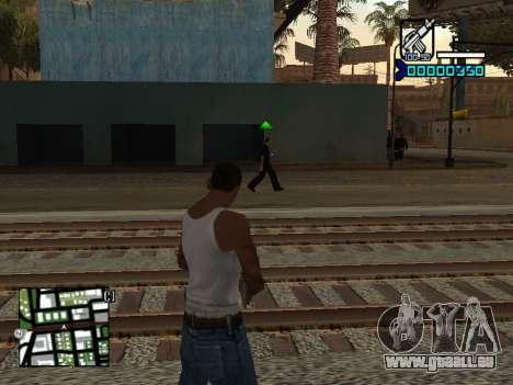 C-HUD by Adam pour GTA San Andreas deuxième écran
