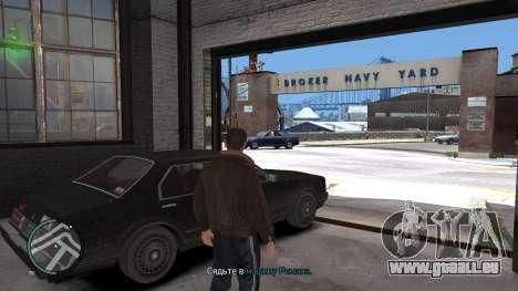 Crack pour GTA 4 pour GTA 4 troisième écran