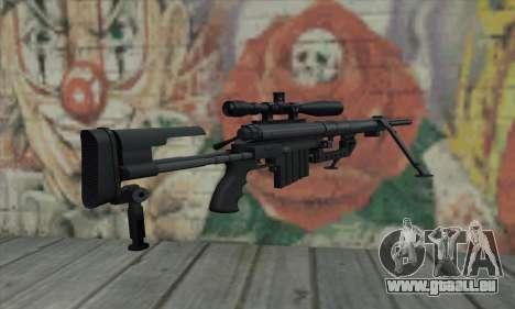 Black M200 Intervention pour GTA San Andreas deuxième écran