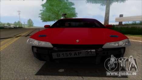 Nissan Silvia S15 V2 pour GTA San Andreas vue intérieure
