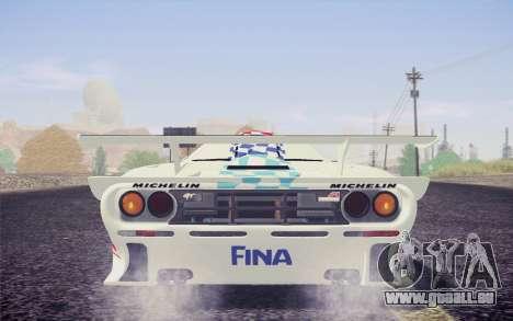 McLaren F1 GTR Longtail 22R pour GTA San Andreas moteur