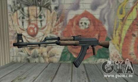 AK47 pour GTA San Andreas