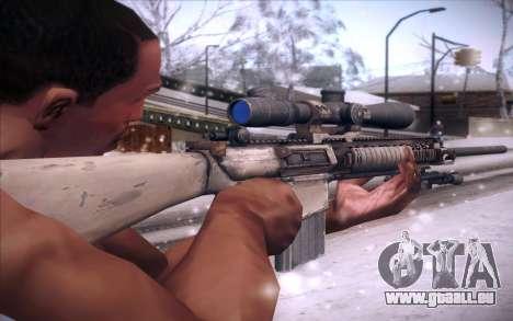 M110 pour GTA San Andreas deuxième écran