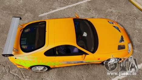 Toyota Supra RZ 1998 (Mark IV) Bomex kit für GTA 4 rechte Ansicht