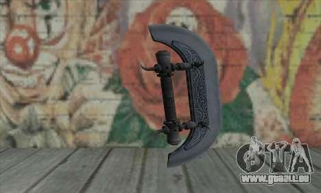 Knuckles - Hatchet pour GTA San Andreas deuxième écran