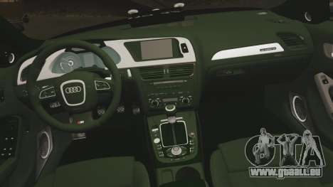 Audi S4 ANPR Interceptor [ELS] für GTA 4 Seitenansicht