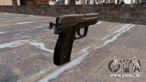 SIG-Sauer P228 pistolet pour GTA 4 secondes d'écran