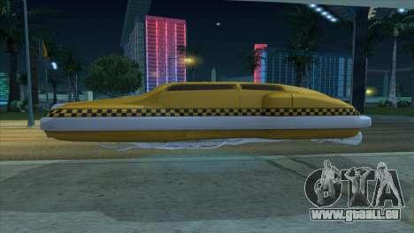 Taxi 5 Element pour GTA San Andreas vue de droite