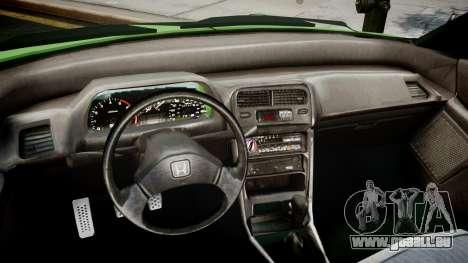 Honda CR-X für GTA 4 rechte Ansicht