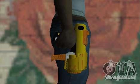 Nerf Gun pour GTA San Andreas troisième écran