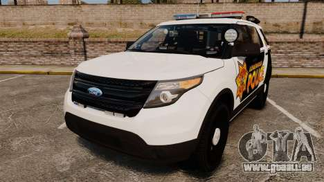Ford Explorer 2013 LCPD [ELS] v1.5X pour GTA 4