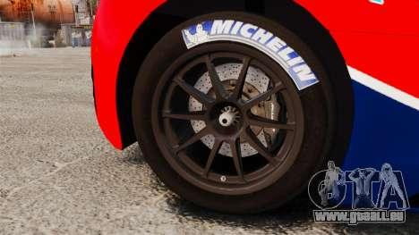 McLaren MP4-12C GT3 für GTA 4 Rückansicht