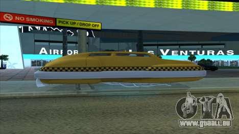 Taxi 5 Element pour GTA San Andreas vue intérieure