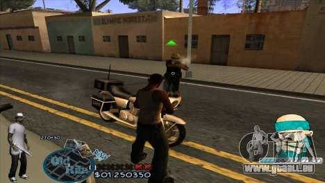 C-HUD Rifa by HARDy für GTA San Andreas dritten Screenshot