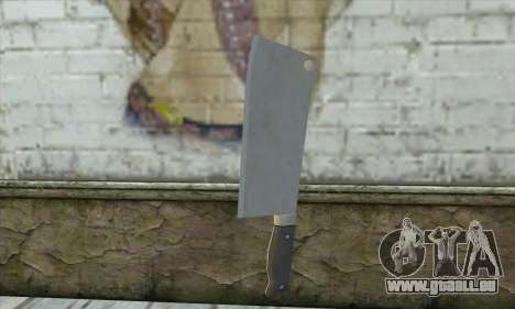 Couteau de cuisine à partir de Postal 3 pour GTA San Andreas