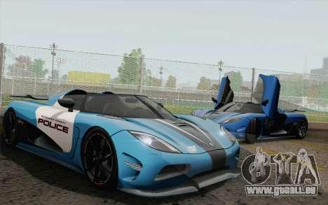 Koenigsegg Agera R pour GTA San Andreas