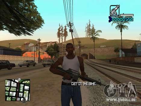 C-HUD by Adam pour GTA San Andreas
