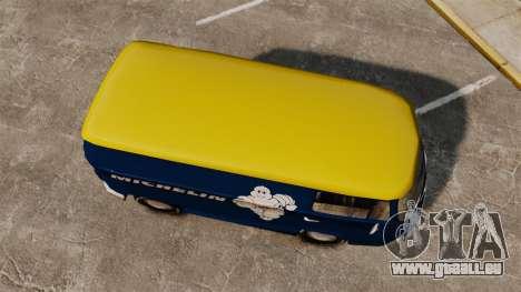 Volkswagen Transpoter 2 1975 pour GTA 4 est un droit