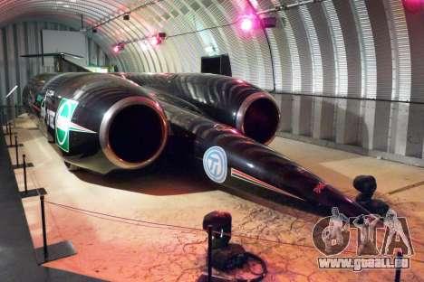 Boot-screens Thrust SSC 1997 für GTA 4 sechsten Screenshot
