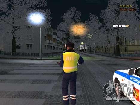 Pak DPS dans un format de l'hiver pour GTA San Andreas troisième écran