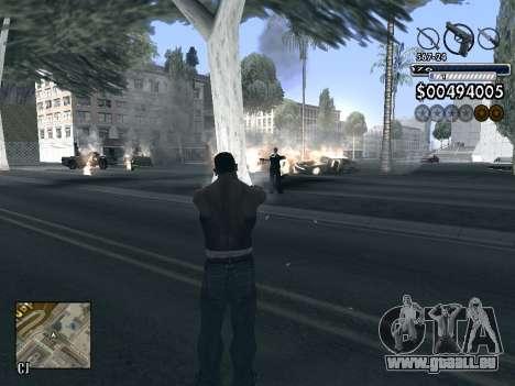 C-HUD v1.0 für GTA San Andreas