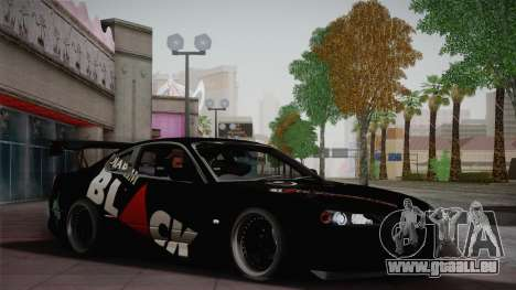 Nissan S15 Street Edition Djarum Black für GTA San Andreas