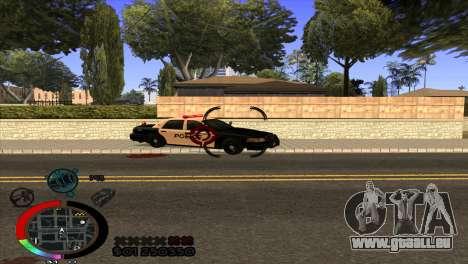 C-Hud Rainbow by HARDy für GTA San Andreas dritten Screenshot