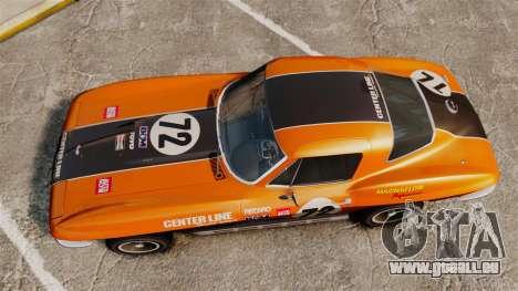 Chevrolet Corvette C2 1967 für GTA 4 rechte Ansicht
