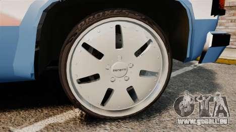 Chevrolet D-20 Custom pour GTA 4 Vue arrière