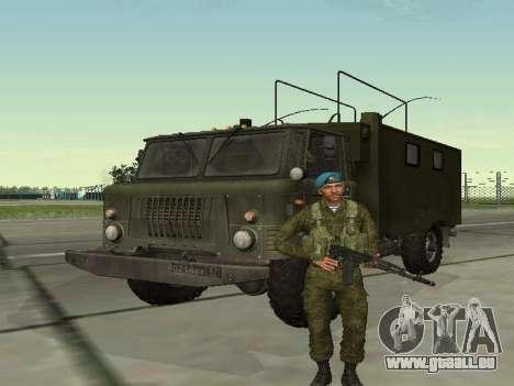 Grenadier De Troupes Aéroportées pour GTA San Andreas